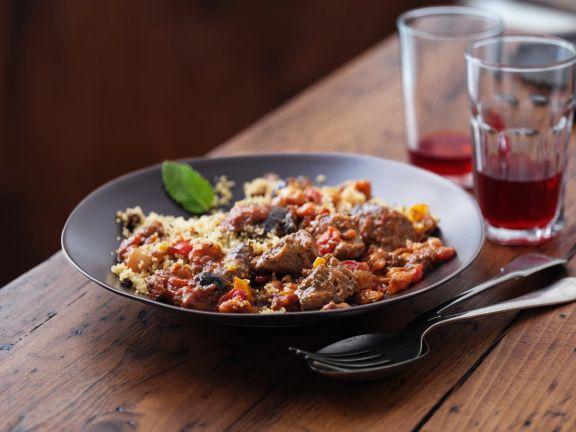 Beef Tajine with Couscous