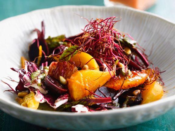 Beet Salad with Orange and Radicchio