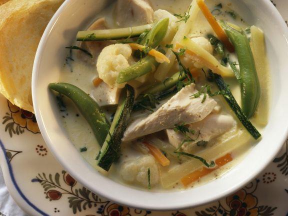 Belgian Chicken Stew with Vegetables