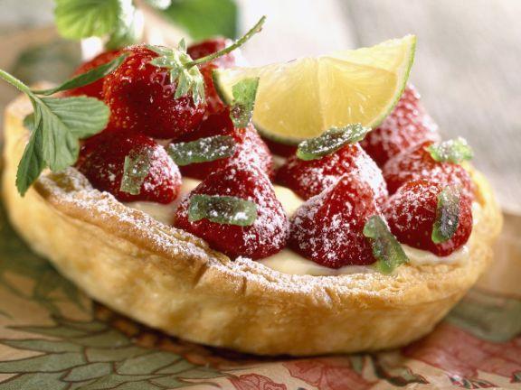 Berry and Custard Tartlet
