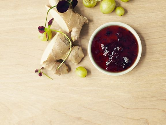 Berry and Ginger Compote