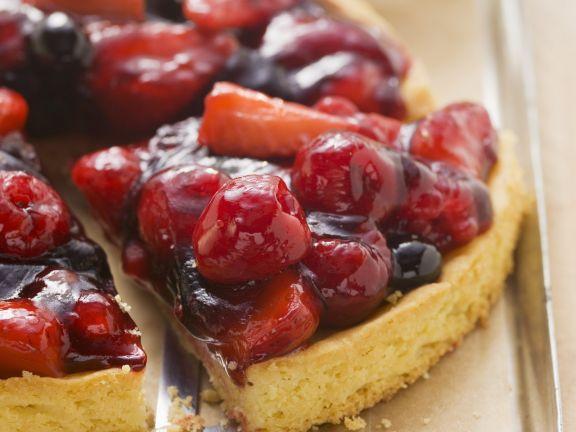Berry Cream Tart
