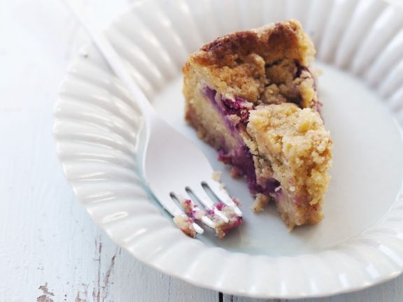 Berry Crumble Cake for Celiacs