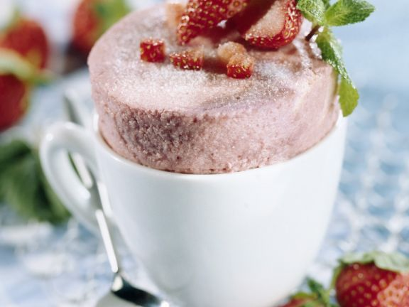 Berry Mousse Pudding