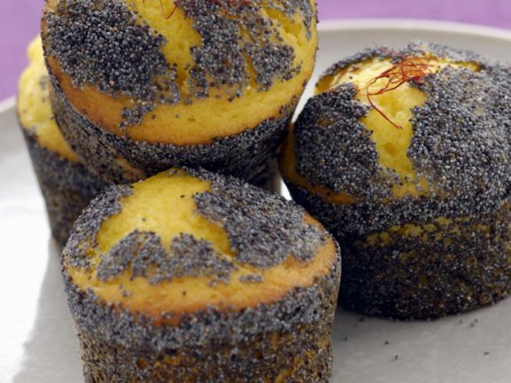 Black Poppy Seed and Lemon Muffins