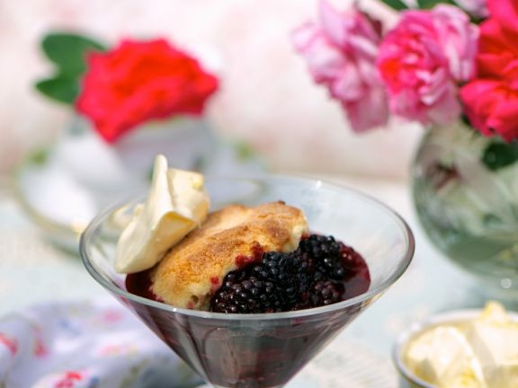 Blackberry Cobblers