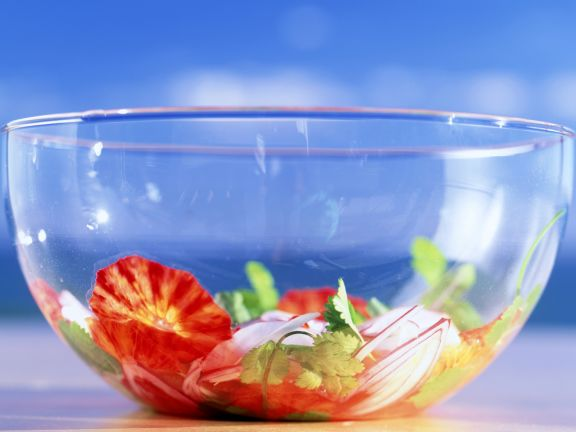 Blood Orange Salad with Onions and Radish