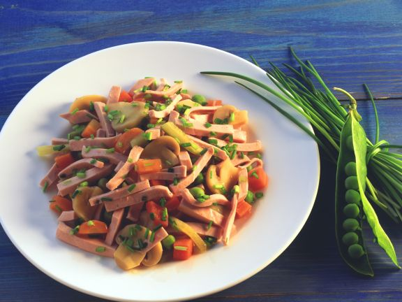 Bologna Vegetable Salad
