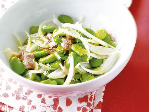 Bowl of Favas with Pancetta