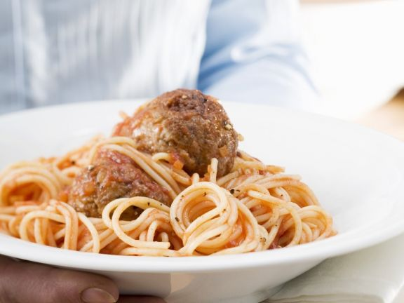 Bowl of Hearty Italian Polpetti