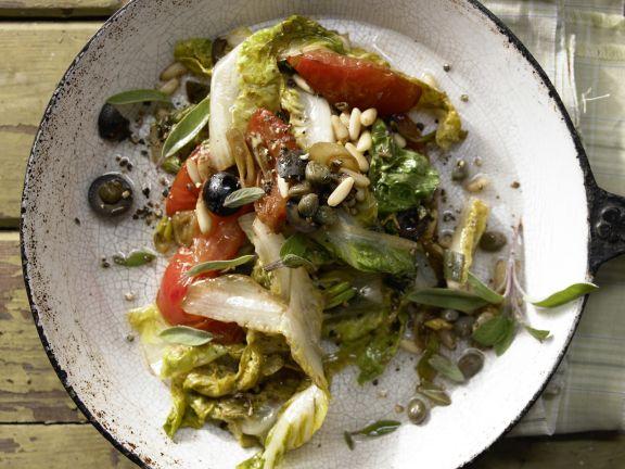 Braised Romaine Lettuce