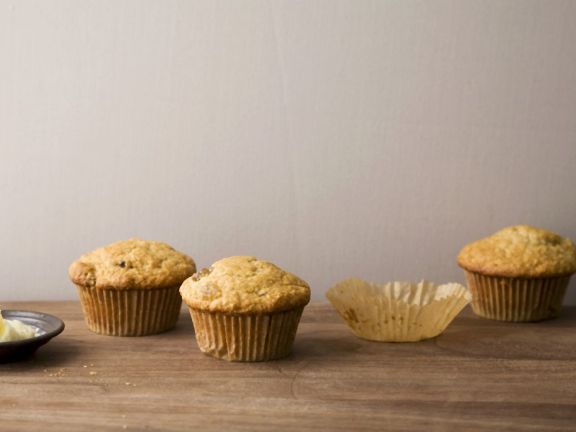 Bran Raisin Muffins