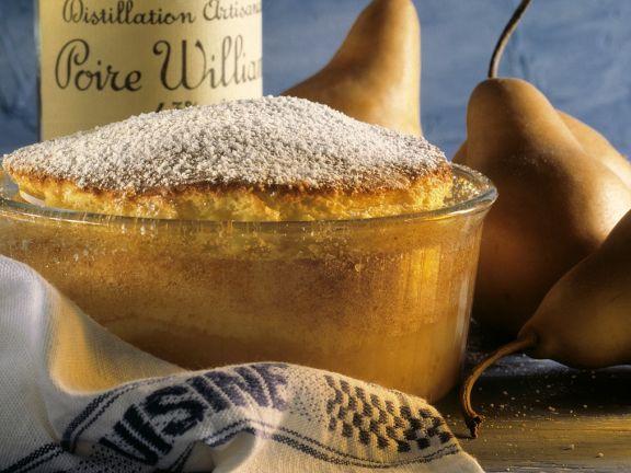 Brandied Pear Souffle
