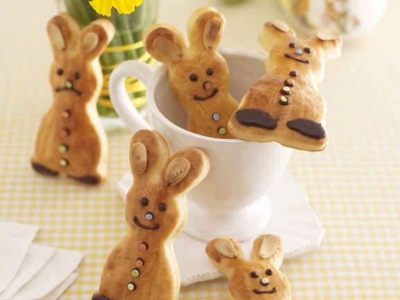 Bread Easter Bunnies