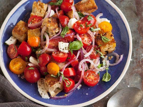 Bread and Cherry Tomato Salad