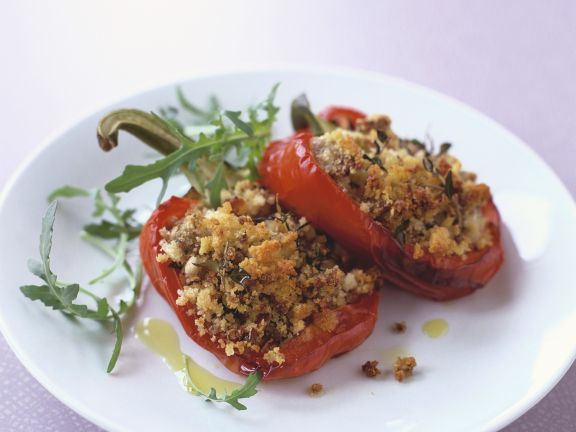 Breadcrumb and Thyme Peppers