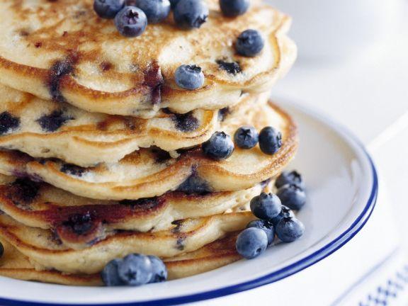 Breakfast Berry Pancake Stack