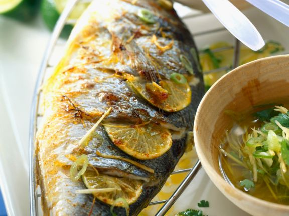 Bream with Saffron and Lime