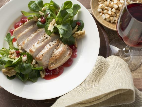 Breast of Pheasant with Lingonberries