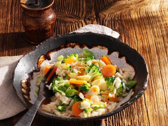 Broccoli and Carrot Rice