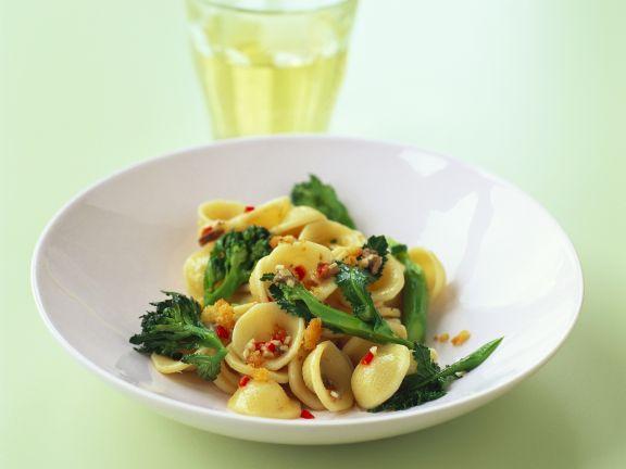Broccoli and Chilli Pasta