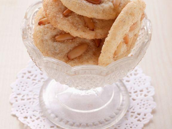 Brown Sugar Pine Nut Cookies