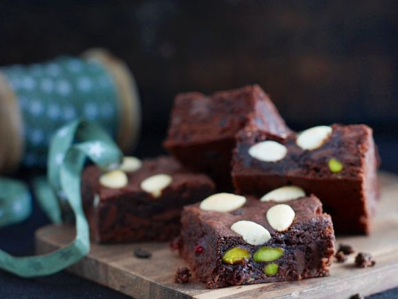 Brownies with Mixed Nuts