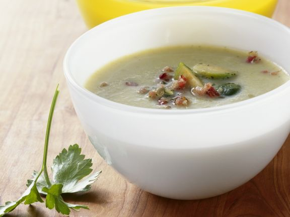 Brussels Sprouts and Pancetta Soup