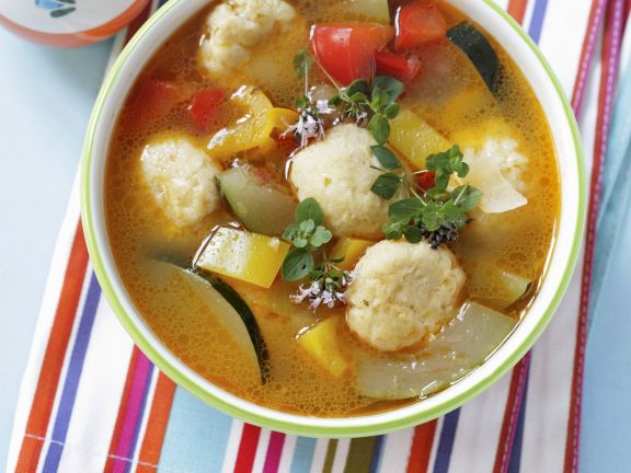 Bulgarian Dumpling Soup