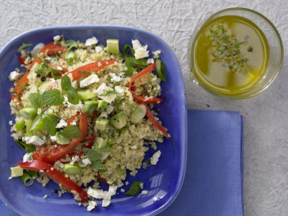 Bulgur and Avocado Salad