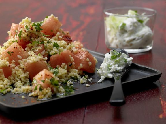 Bulgur Melon Salad