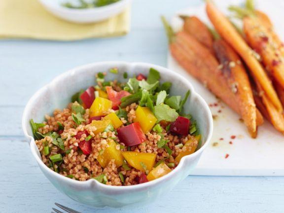 Bulgur Salad with Chili and Carrots