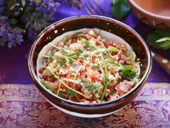 Bulgur Salad with Tomatoes