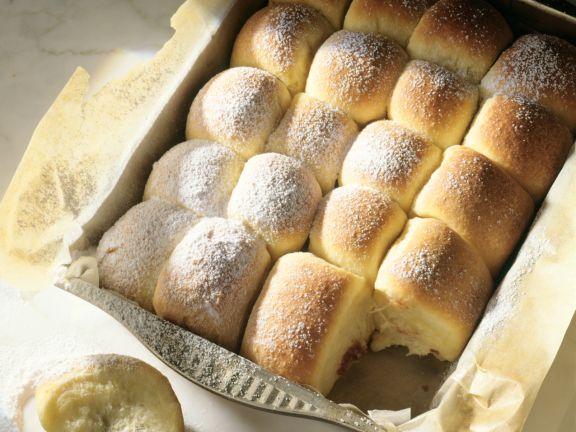 Buns Stuffed with Plum Butter