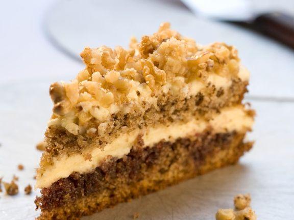 Buttercream Walnut Cake
