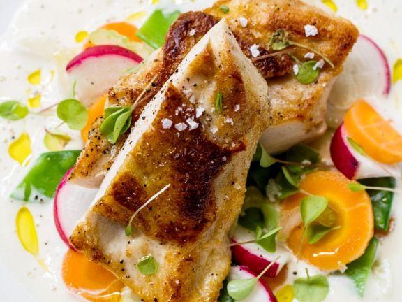 Creamy Buttermilk Chicken with Vegetables