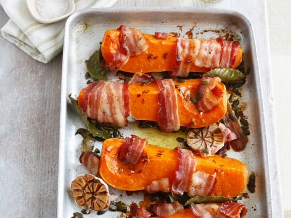 Pumpkin with Bacon and Garlic