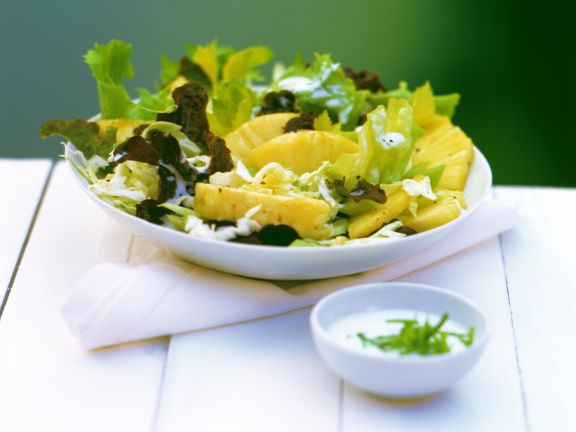Cabbage and Pineapple Salad