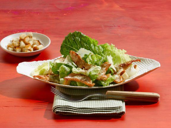 Caesar Salad with Turkey