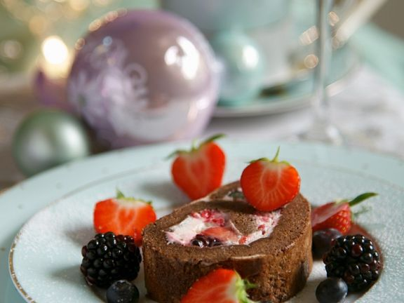 Fruity Cocoa Roulade