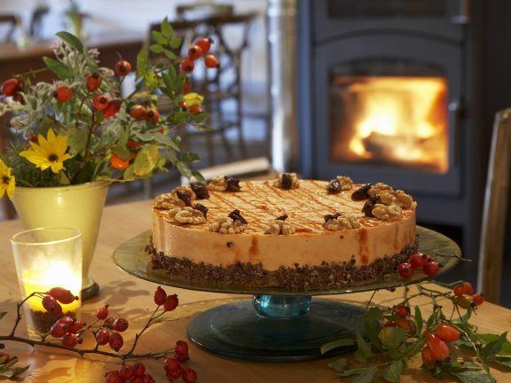 Cake with Rosehip Cream