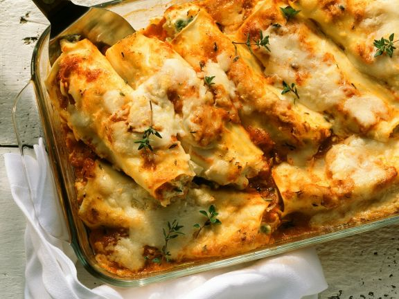 Cannelloni with Vegetable Filling