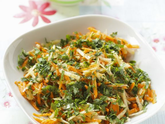 Carrot and Celery Salad with Parsley