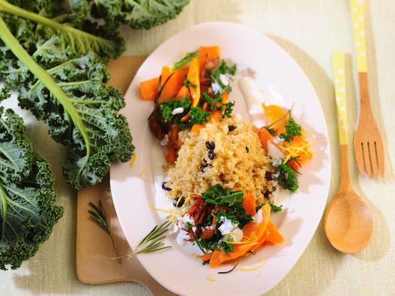 Carrot Kale Pot with Bulgur