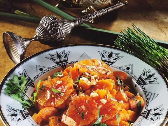 Carrot Salad with Oranges