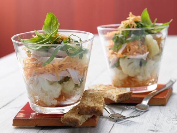 Cauliflower Layer Salad