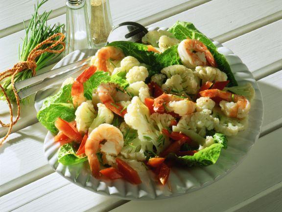 Cauliflower Salad with Crab Meat