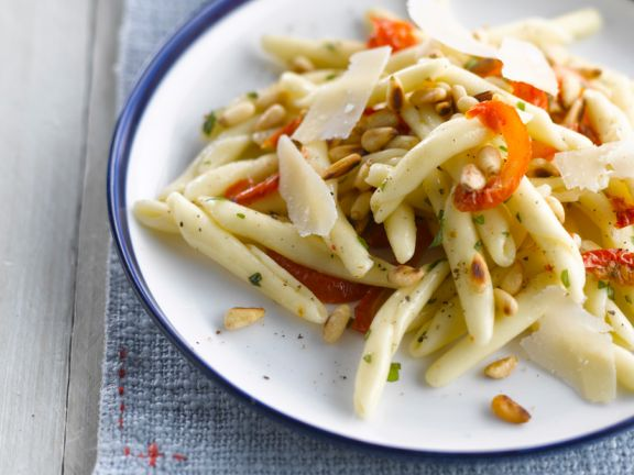 Cavatellucci with Pine Nuts and Tomatoes