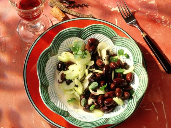 Celery and Olive Salad