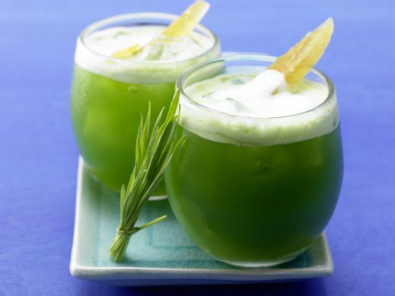 Celery-Grape Wheatgrass Juice